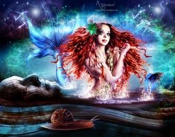 The Queen of the Mermaids by annemaria48