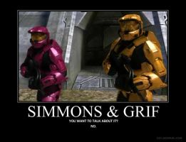 Simmons and Grif by Crosknight