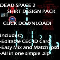 Dead Space Shirt Design Pack by The-Brade