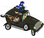 The Gang's Joyride by PegasusJedi