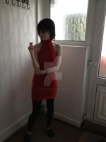 Resident Evil 2 Ada Wong cosplay 4 by MasterCyclonis1