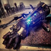 Steampowered Giraffe Gauntlet by deadlanceSteamworks