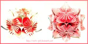 Happy New Year_Origami - style by VeIra-girl