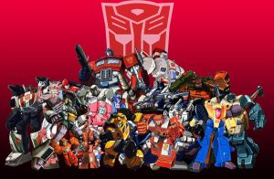 Autobot Group Shot by Fanimusmaximus2pnt0