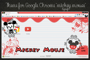Theme For Google Chrome Mickey Mouse by Isfe