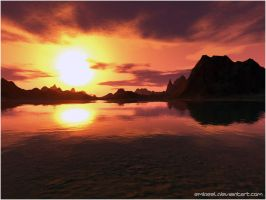 The Red Lagoon by eMBeeL