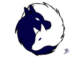 Blue and White by Sonicth62