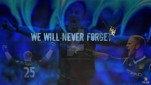 We Will never Forget by Kippaxmaineroad