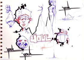 Sketches various youl by YoulDesign