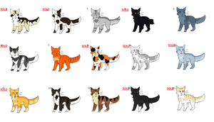 Cats adopts (open) by SCP-Rose