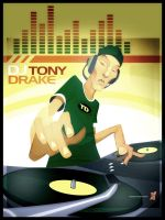 Ma'Boy DJ Tony Drake by braeonArt