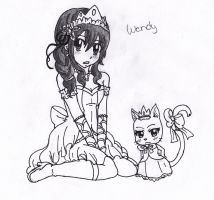 Wendy Marvell the Princess by Takari01