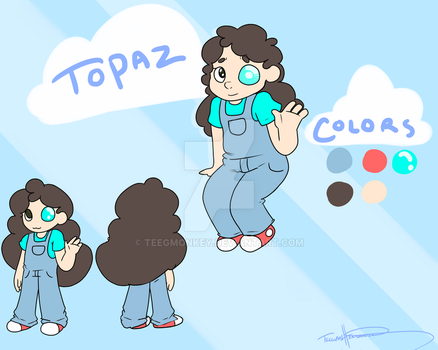 Topaz ( steven universe fan art ) by Teegmonkey