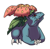 Coltrane the Venusaur by BlakkFox