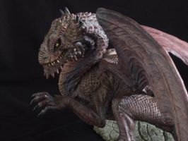Dragon - close up of painted version by revenant-99