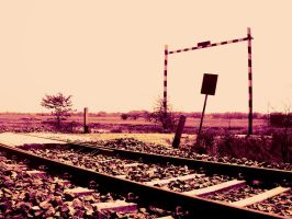 The Deserted Railway by SubhadipKoley