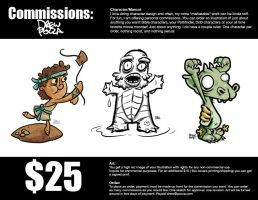 Commissions are OPEN! by pocza