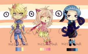 [b01] kemonomimi gang [CLOSED] by mistadoptbell