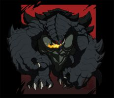 Gameranime - Nightmare Gamera by KaijuSamurai