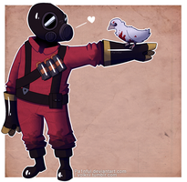 Littlest Pyro by Vencentio