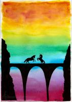 The Unicorn's Fight by Andenne