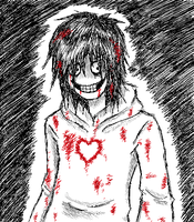 Jeff The Killer-I have a heart... by EdoRoku