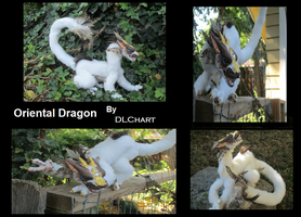 Oriental Dragon Posable Art Doll by DLChart