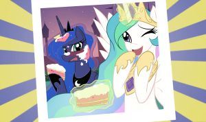 Luna and Celestia Photo by JinZhan