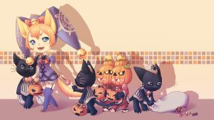 TERA - Happy Halloween~ by Beeball