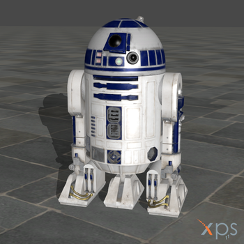 SW Battlefront 2015 R2D2 for XPS by SaltPowered