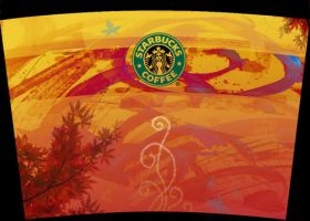 Starbucks Cup by Saintbirdy