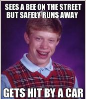 Bad Luck Brian by Emosnoflakegrl99