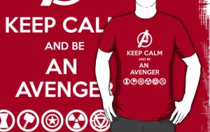 KEEP CALM... and be an Avengers by FallenAngelGM