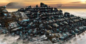 Pyramid City by lifeformgraphics