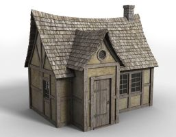 Fantasy House 1 - Freebie by DryJack