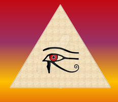 New eye of Horus by Mikewildt