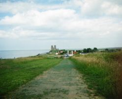 Nearing Reculver by Alondra-chui