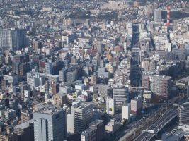 STOCK AIRBORNE IMAGERY JAPAN NO:010030017 by hirolus