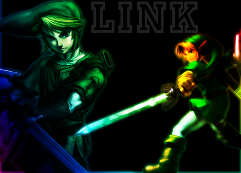 Link - The Ledgends of Zelda by BLGkicksbutt