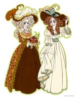 1780's Dresses by Seitou