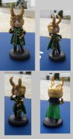 Loki Clay Figure by Sugar-Bolt