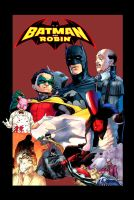 Batman and Robin Poster by kaiser89