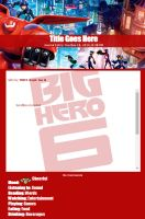 Journal Skin: Big Hero 6 - Heroes by TMNT-Raph-fan