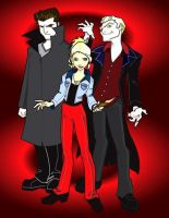 Buffy's Boys by mikeysammiches