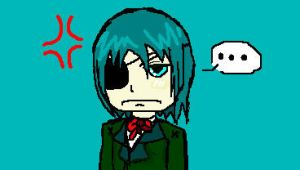 Ciel is NOT amused by Deathly-UnderTaker