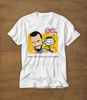 Cartoon T-shirt by ElsharQawy