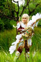Dynasty Elf from Lineage II by pinkyluxun