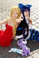 [Panty and Stocking] Sisters of Anarchy by Yeu