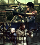 Resident Evil 5 by AuraIan