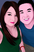 couple vector :) by jaquieang